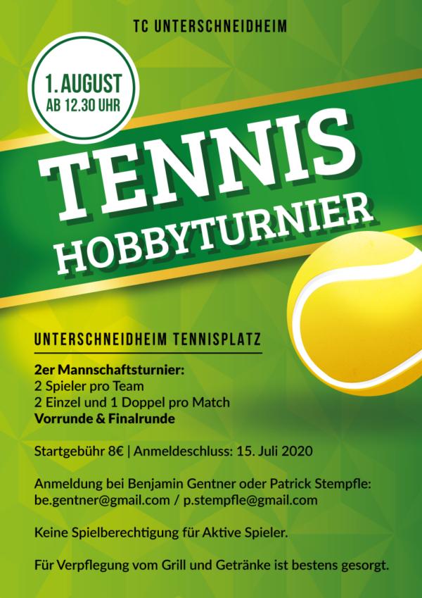 Tennis-Hobbyturnier